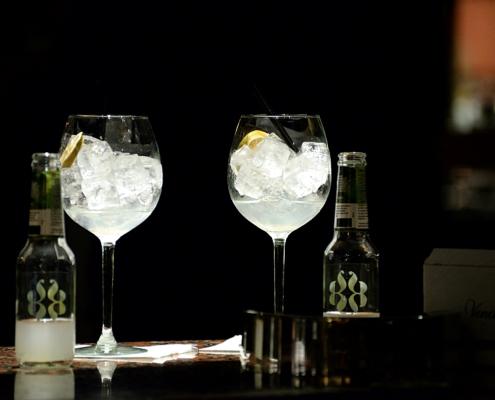 Cocktail e Ghiaccio aromatico