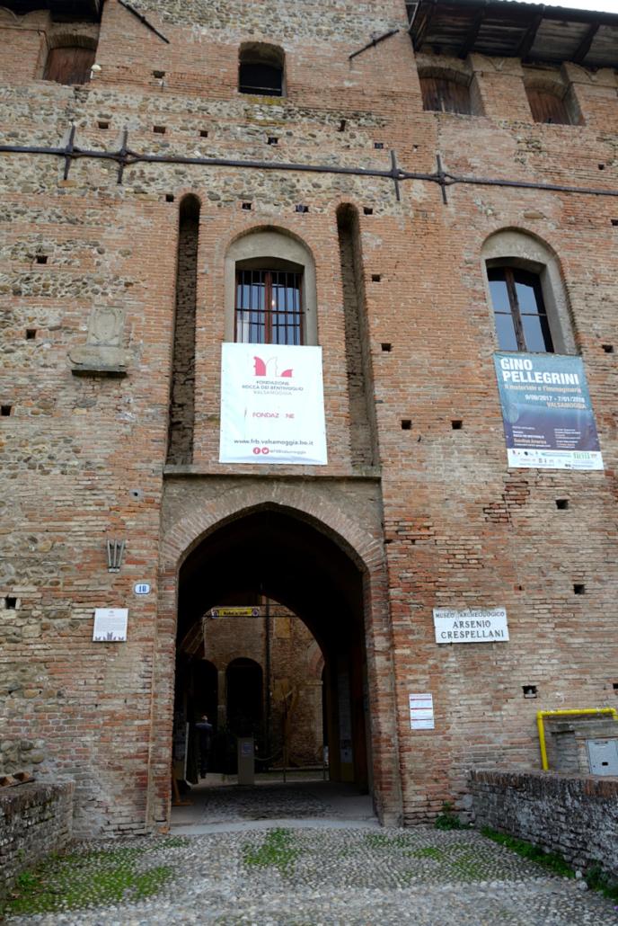 Ingresso al museo Crespellani
