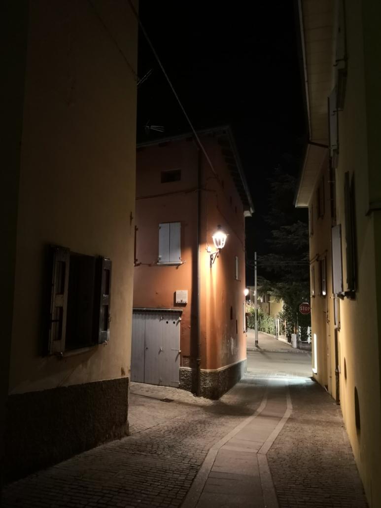 Strade del centro di Bazzano