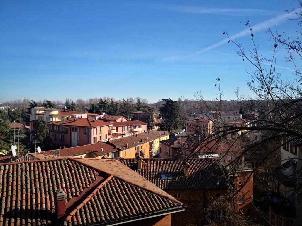 Tetti della città dalla Rocca