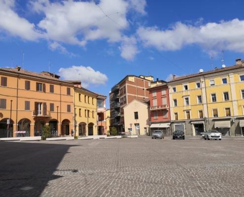 Porfido Piazza Bazzano - Turismo a Valsamoggia